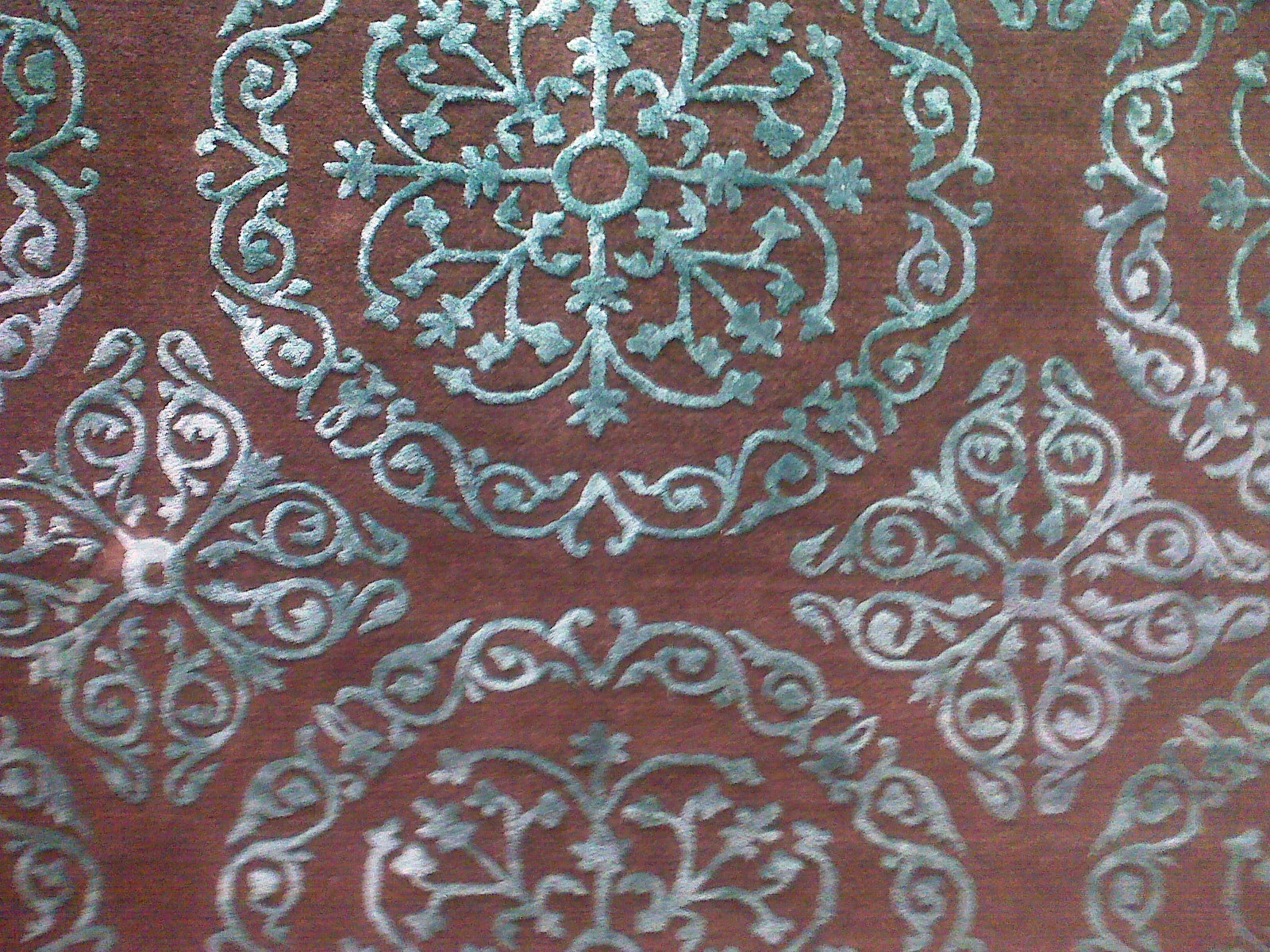 Home Goods Rug Close Up