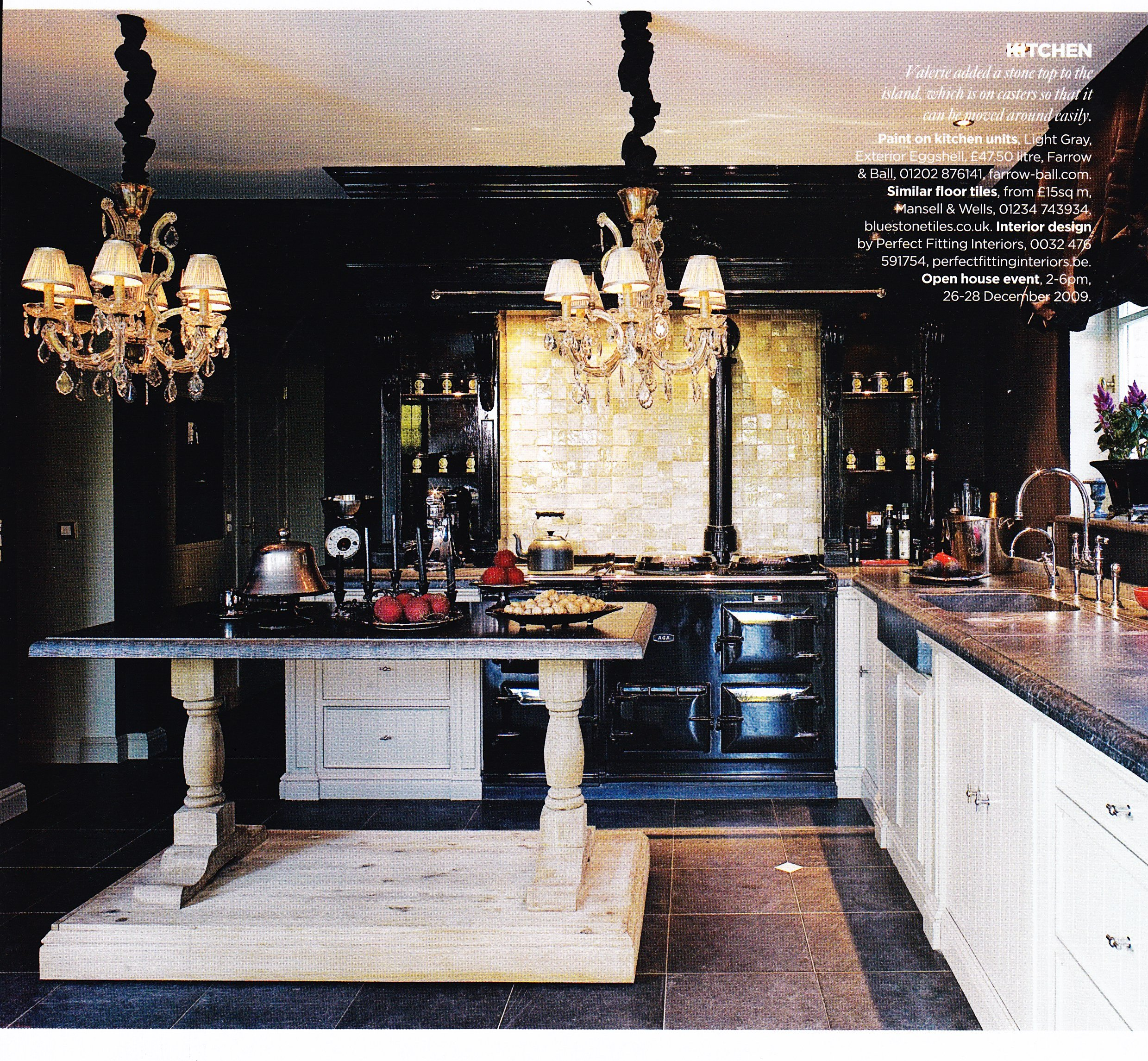 The gallery for --> Victorian Gothic Kitchen